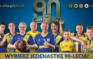 Jedenastka 90-lecia Arki Gdynia - zagłosuj. Typuje Janusz Kupcewicz