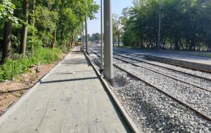 Przebudowa trasy tramwajowej na Stogi opóźniona