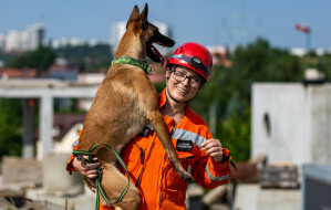 Ludzie Trójmiasta: razem z psami ratuje ludzi