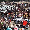 Tłumy na trójmiejskich plażach