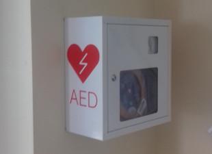 Defibrylatory w ZUS-ie.