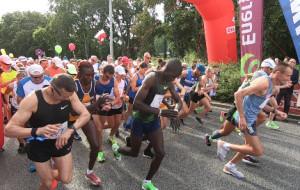 25. Maraton Solidarności. Metę osiągnęło niespełna 700 biegaczy