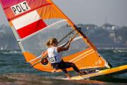 Regaty przedolimpijskie w żeglarstwie. Przybytek i Kołodziński wiceliderami