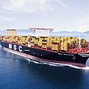MSC Gülsün - wielki kontenerowiec w DCT Gdańsk