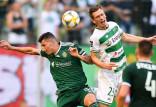 Lechia Gdańsk - Śląsk Wrocław 1:1. Poprzeczka w doliczonym czasie gry