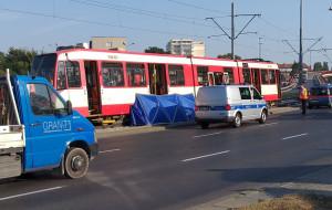 Śmiertelny wypadek na Podwalu Przedmiejskim