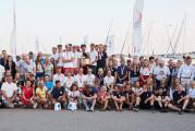 Żeglarskie mistrzostwa Polski w Górkach Zachodnich w dwóch częściach
