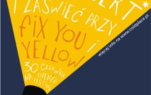Zaświeć latarką na koncercie Coldplay