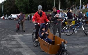 Miłośnicy rowerów towarowych zjechali do Gdyni