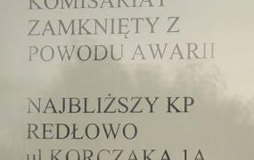 Komisariat na Karwinach zamknięty przez zły stan techniczny