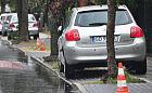 Nieczysta walka o miejsca do parkowania