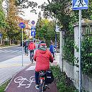 Wspólny przejazd rowerowy po Sopocie: wciąż wiele miejsc wymaga poprawy