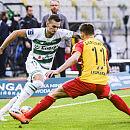 Lechia Gdańsk w meczu z Koroną Kielce: doskonałe statystyki podań