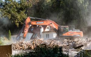 Nielegalnie zburzono kamienicę w Oliwie?