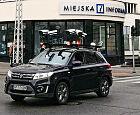 Samochód z kamerami fotografuje gdyńskie ulice