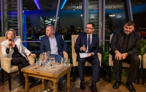 Kandydaci do Sejmu na ostatniej debacie przedwyborczej w Gdańsku