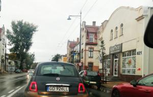 Korki na al. Niepodległości w Sopocie przez jesienne remonty