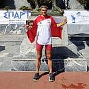 Strażak z Gdyni przebiegł 246 km w greckim ultramaratonie