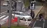 Przejechał autem przez przejście i celowo potrącił rowerzystę
