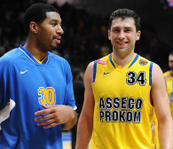 Asseco Arka Gdynia - EWE Basket Oldenburg w Eurocup. Adam Hrycaniuk przepytany