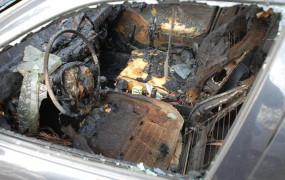 Podpaliła samochód byłego partnera