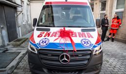 Nowy ambulans w miejskiej stacji pogotowia w Gdyni