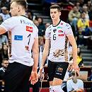 Cuprum Lubin - Trefl Gdańsk 0:3. Kluczowy pierwszy set, wygrany na przewagi