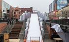 Wielka zjeżdżalnia przy Forum Gdańsk