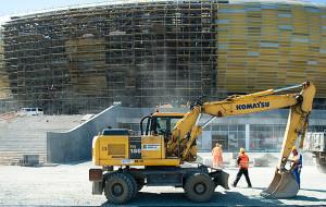 Gdańsk odda wykonawcy stadionu w Letnicy  7,4 mln zł