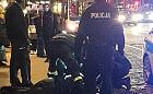 Przechodnie i policjanci pomogli nieprzytomnemu na ulicy