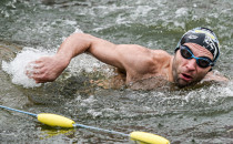 Pływali w grudniu w Motławie. Mistrzostwa...