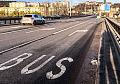 Gdynia: będzie lepsze oznakowanie buspasa na estakadzie