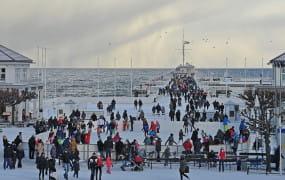 Lodowisko przy molo w Sopocie ma ruszyć 16 grudnia. Ceny bez zmian