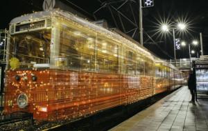 Świąteczny tramwaj i ostatni kurs przegubowca