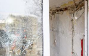 Złodzieje okradli budynek, gdzie powstaje hospicjum
