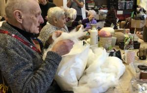 Wigilia i święta w domu pomocy dla seniorów