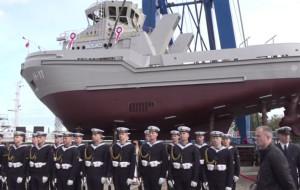 """""""Bolko"""" przekazany Marynarce Wojennej"""