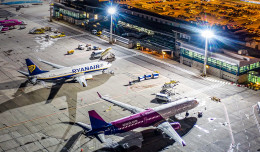 Lotnisko w Gdańsku: 5,4 mln pasażerów, 50 mln zysku