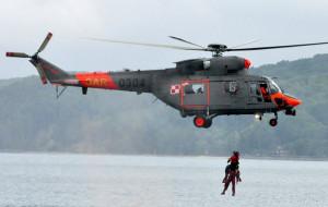 Śmigłowiec ewakuował chorego z promu płynącego do Gdyni