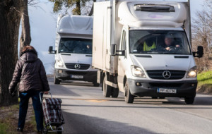 Problem pieszych na serpentynach w Gdyni