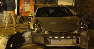Kierowca porsche zgłosił się na policję