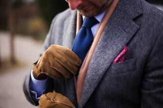 Rękawiczki dla eleganckiego mężczyzny