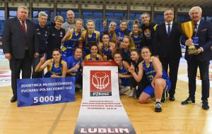 Arka Gdynia i Politechnika Gdańska grają o mistrzostwo Polski U-22 koszykarek