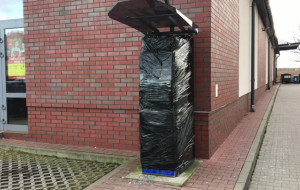 Trzeci atak na bankomat w Osowej