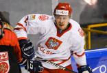 Szymon Marzec gra o igrzyska olimpijskie Pekin 2022. Hokeiści wygrali dwa mecze