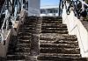 Przestój w remoncie schodów łączących Siedlce z Suchaninem