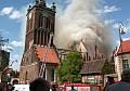 Św. Katarzyna - rok od pożaru
