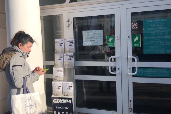 Urzędy w Gdyni, Gdańsku i Sopocie zamknięte