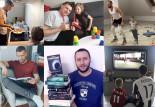 Zobacz, co robili sportowcy z Trójmiasta, gdy mieli wolne od meczów