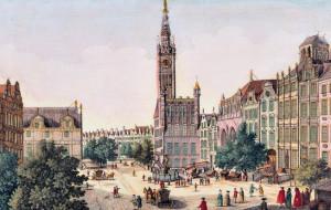 Okiem angielskiego dżentelmena #2. Długi Targ w XVIII wieku